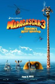 Madagascar 3: Europe's Most Wanted poster free full movie