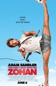 You Don't Mess with the Zohan poster free full movie