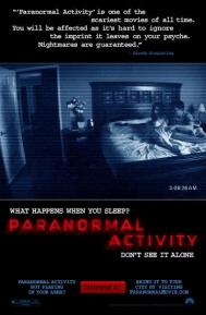 Paranormal Activity poster free full movie