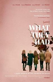 What They Had poster free full movie