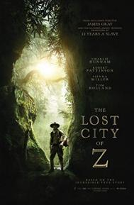 The Lost City of Z poster free full movie
