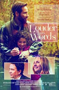 Louder Than Words poster free full movie