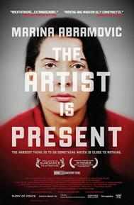 Marina Abramovic: The Artist Is Present poster free full movie