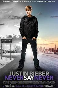 Justin Bieber: Never Say Never poster free full movie