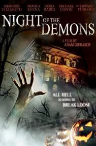 Night of the Demons poster free full movie