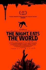 The Night Eats the World poster