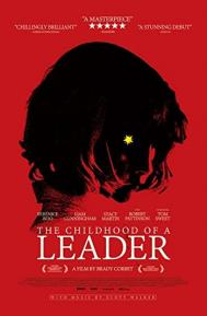 The Childhood of a Leader poster free full movie