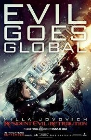 Resident Evil: Retribution poster free full movie