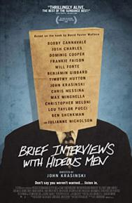 Brief Interviews with Hideous Men poster free full movie