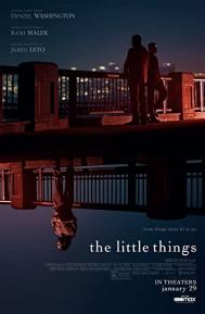 The Little Things poster free full movie